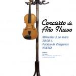 Cartel del Concierto de Año Nuevo 2013