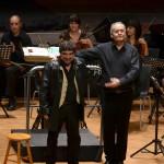 Pere Soto en el Concierto de Año Nuevo 2013 con Pere Soto